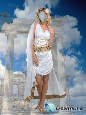Костюм для фотошопа – Античная девушка
