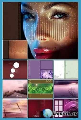 Многослойные фоны для фотошоп (Часть 3)