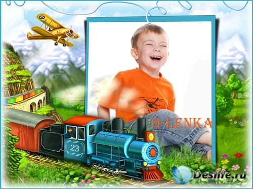 Детская фоторамка - Мои игрушки