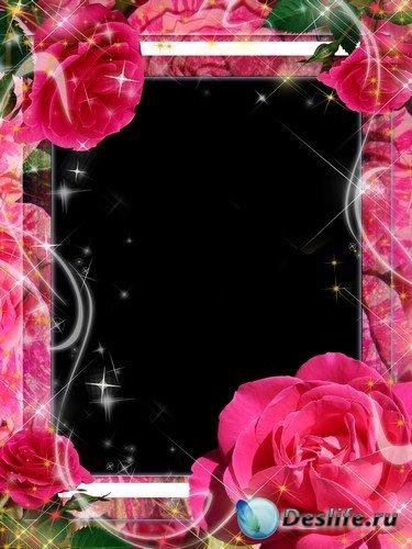 Рамка для фото –  Как прекрасны эти розы