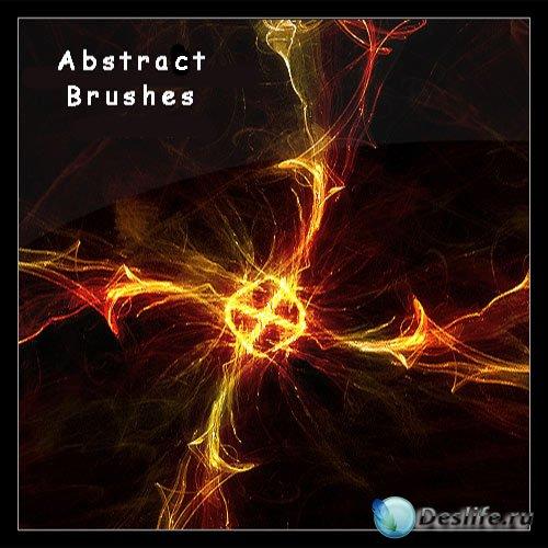 Кисти - Огненный абстракт