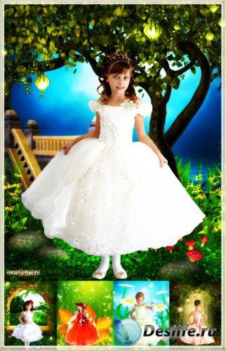 Собрание детских костюмов для девочки - Очаровательные маленькие принцессы  ...