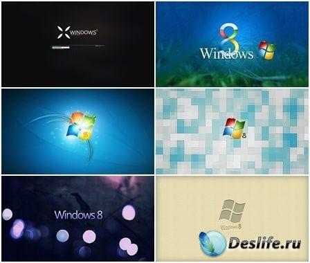 Коллекция обоев на тему Windows 8