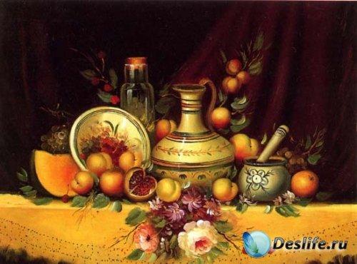 Букеты цветов картины известных