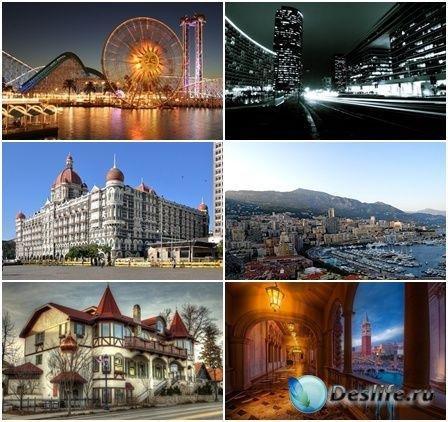 Коллекция обоев на тему Города и их достопримечательности №8