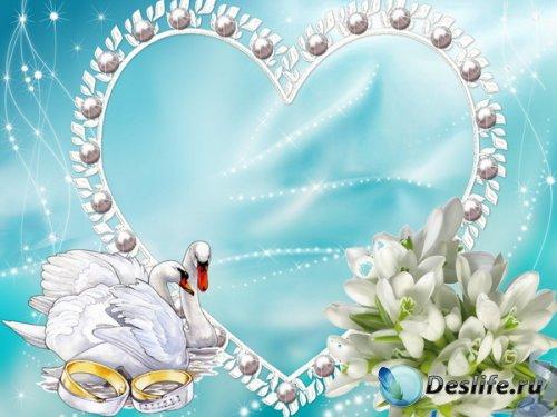 Рамка свадебная (4)