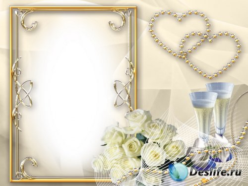 Рамка свадебная (2)