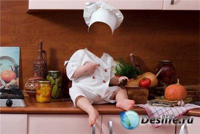 Костюм для фотошоп – Маленький повар