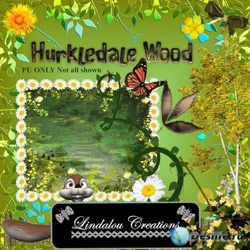 Скрап набор Hurkledale Wood - Сказочный лес