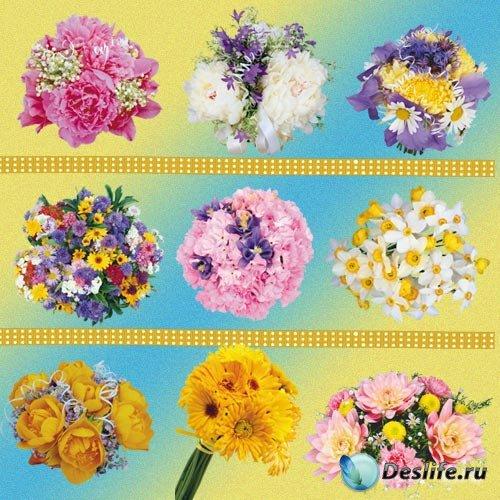 Цветочный клип-арт - Праздничный букет