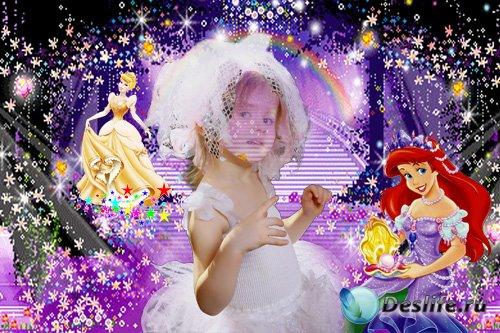 Косюм для девочек - С принцессами