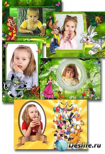 Детские фоторамки - герои Диснея