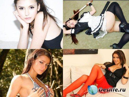 Эти прекрасные женщины / The most lovely girls Full HD #101