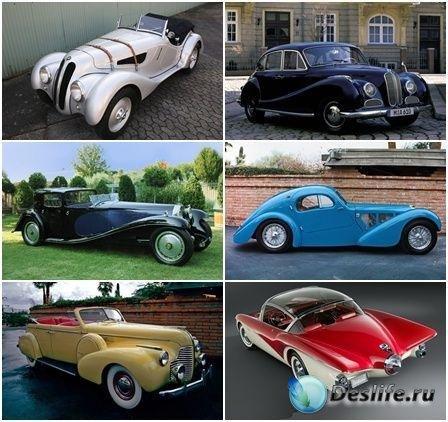 Коллекция обоев на тему Ретро автомобили №3