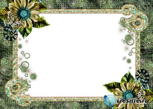 Рамка для фото - Волшебный цветок