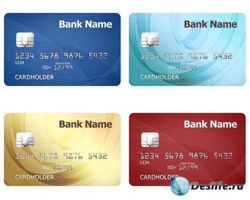 Форма для фотошопа – Кредитные карты