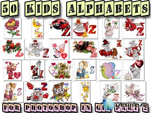 Алфавиты детские - 2 | Kids Alphabets