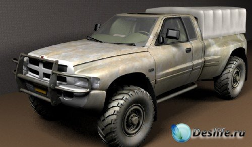 3D модель джипа Dodge