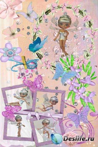 Скрап-набор - Сказочные феи