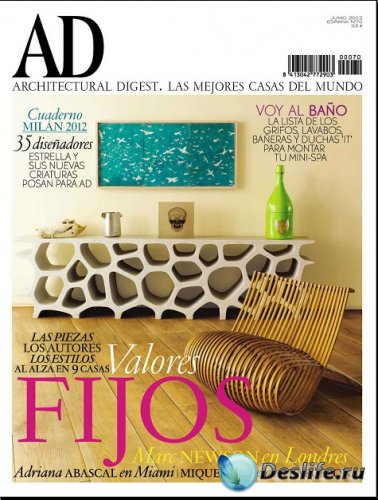 Architectural Digest №70 (Junio 2012 / Espana)