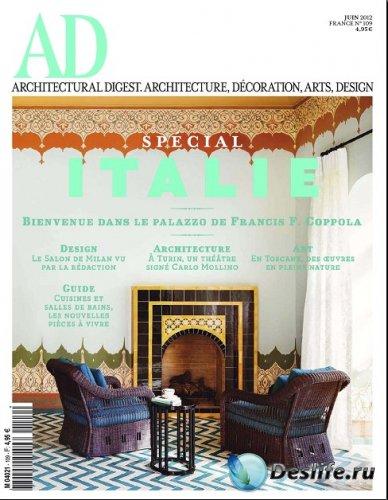 Architectural Digest №109 (Juin 2012 / France)