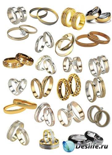 Клипарт - Обручальные кольца