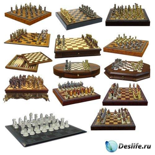 Фотосток: Шахматы, шахматные доски, шахматные фигуры