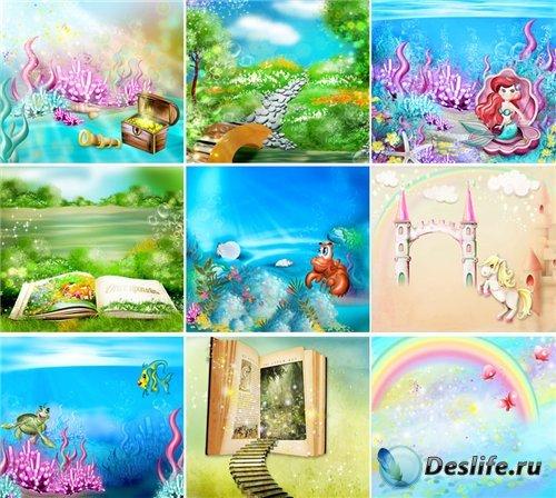Набор качественных красочных фонов