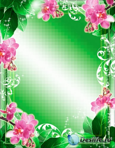 Рамка для фото - Яблоня в цвету