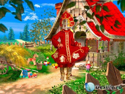 Костюм для фотошопа - Русская красавица из сказки