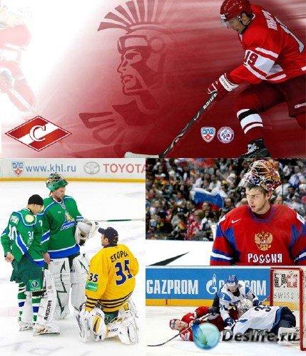 Фотосток: зимние виды спорта - Хоккей на льду