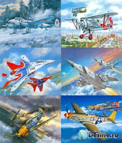 Рисованная боевая авиация