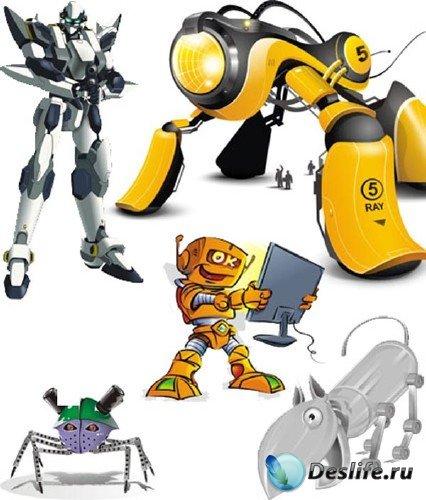 Векторный сток: роботы