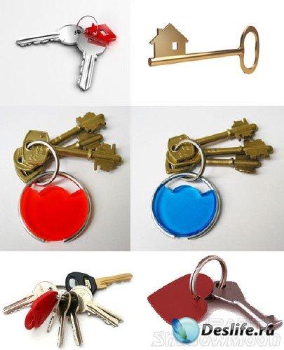 Фотосток: ключи,  связка ключей