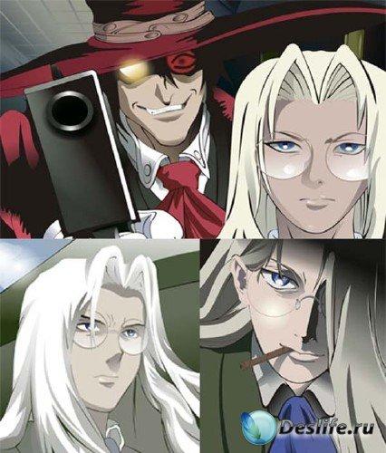 Векторный сток: персонажи аниме
