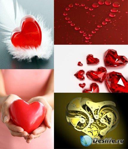 Фотосток: Сердечки и сердца ко Дню Святого Валентина №6