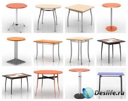 3d модели столов