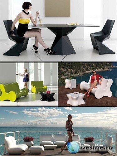 Подборка дизайнерской мебели от студии VONDOM