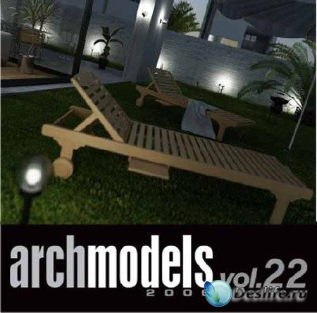 3d модели для дачи - «Evermotion ArchModels Vol.22»