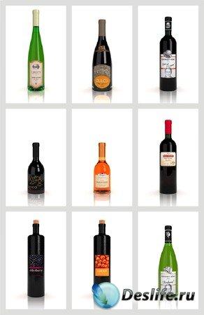 3d модели бутылок