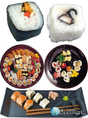 Фотосток: восточная кухня (часть вторая) - суши, роллы, сашими и др.
