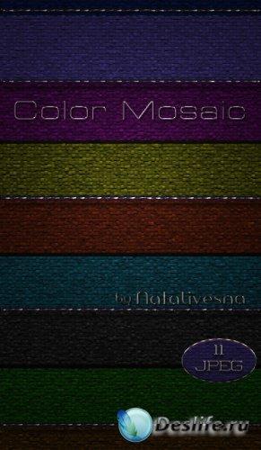 Цветные текстуры для Photoshop - Мозаика