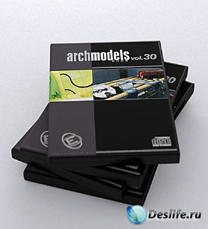 3d модели полотенец, штор, одежды - Archmodels vol 30
