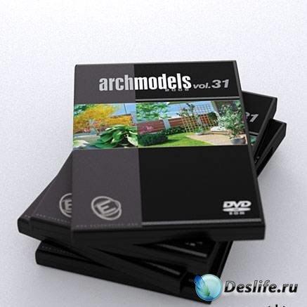 3d модели деревьев - Archmodels Vol.31