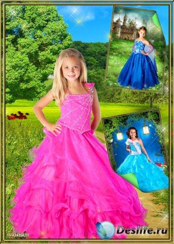 Костюм для фотошопа - Детские нарядные платья для девочек
