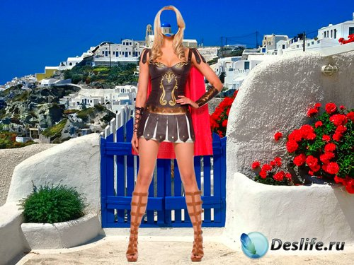 Костюм для фотошопа – Греческая богиня