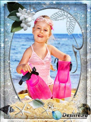 Фоторамка - Летние каникулы на море