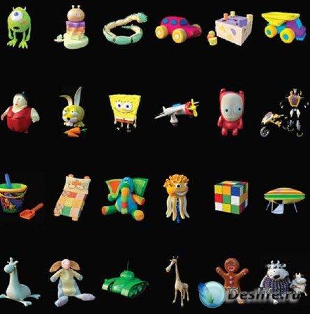 3d игрушки