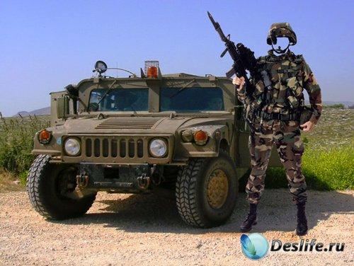 Костюм для фотошопа – Солдат спецназа США