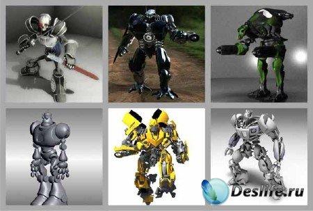 3d модели боевых роботов